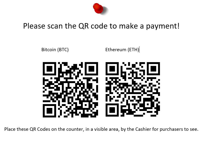 QR code for merchant api