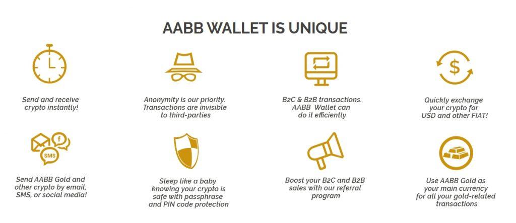 Benefits of AABB wallet