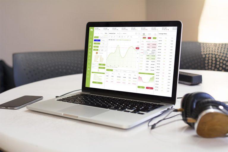 whitelabel exchange platform on macbook