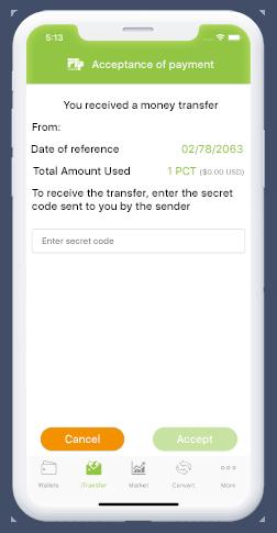 receive money transfer